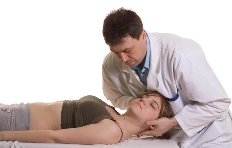 Лечение шейного спондилеза