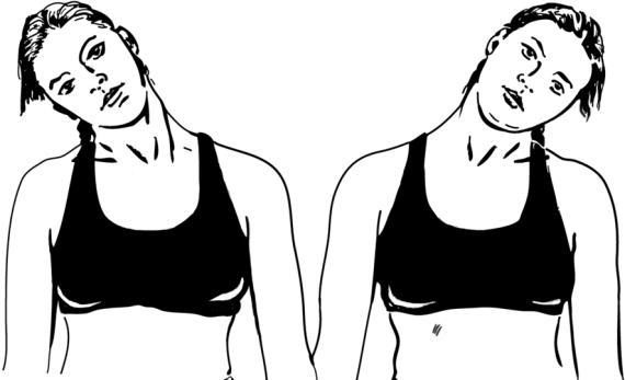 принцип избавления наклоны головы картинки рисунок предупреждает