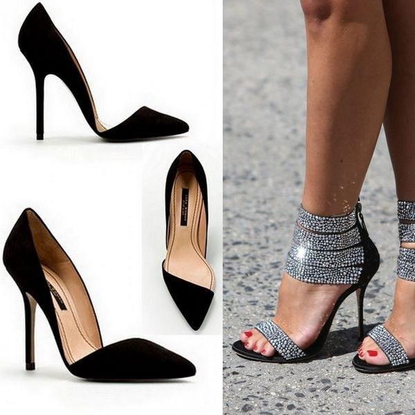 Неудобная неправильная обувь