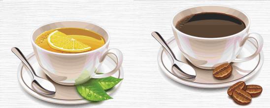 Не стоит злоупотреблять чаем и кофе
