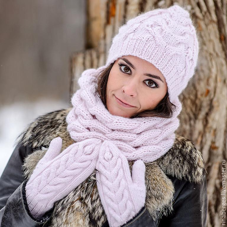 Носите теплый шарф или снуд