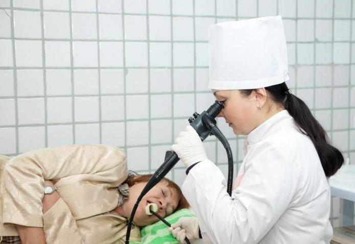 Обследование, диагностика язвы желудка