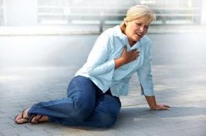 Основные симптомы инфаркта
