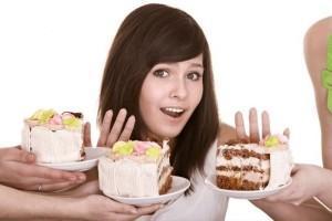 Отказываемся от сладкого и жирного