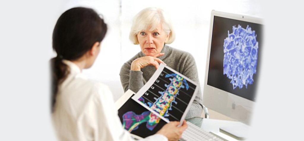 После 40 лет увеличивается риск остеопороза и переломов