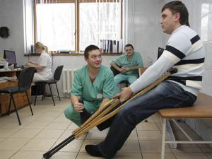 Проведение обследования врачом