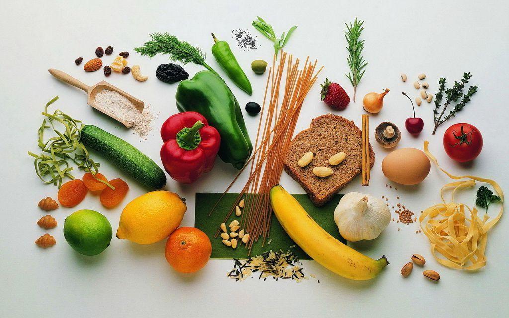 Продукты богатые витаминами и микроэлементами