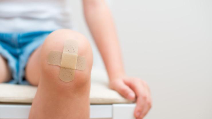 Травмы колен в детском возрасте