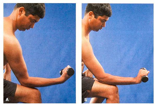 Упражнение для сгибания и разгибания кисти