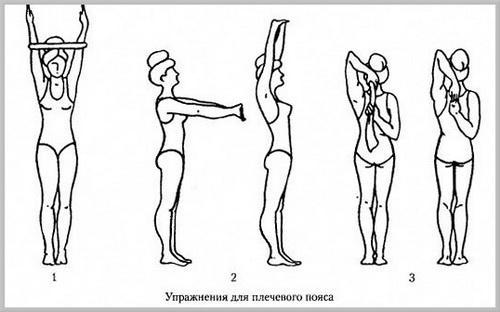 Упражнения для плечевого пояса