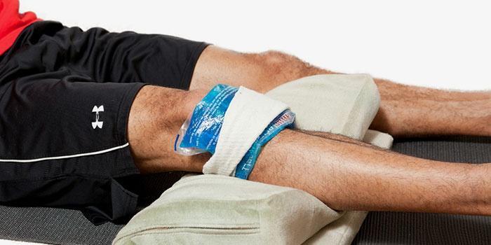 Холодный компресс для облегчения болезненных ощущений