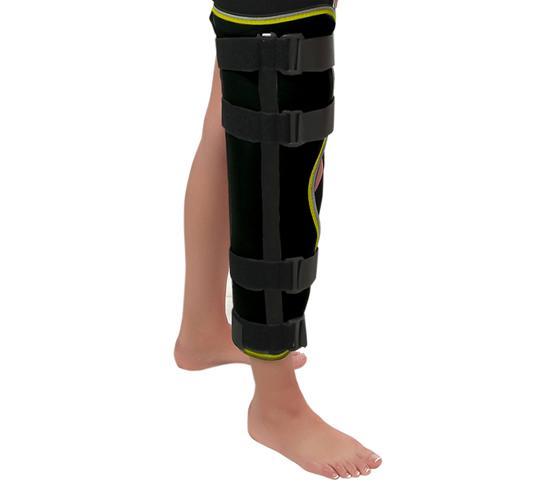 Шина для фиксации коленного сустава