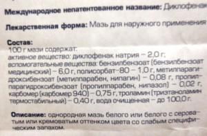 Состав Ортофена