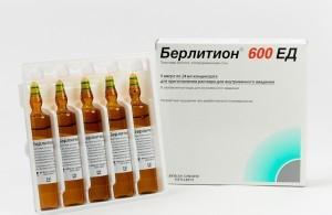 Берлитион 600, раствор для инъекций