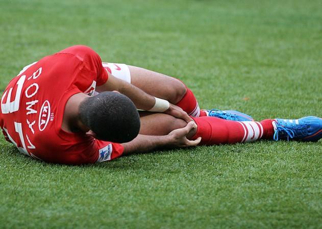 Травма колена у спортсмена