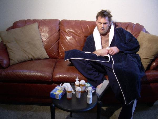 Больному с гайморитом лучше находиться в изолированном помещении
