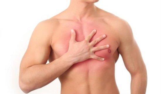 Боль в грудине после травм