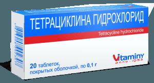 Гидрохлорид тетрациклина