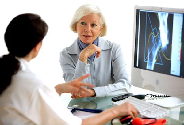Диффузный остеопороз в пожилом возрасте