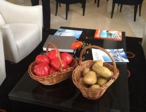 Картофель и томаты