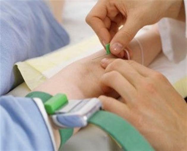 Кровь для определения концентрации хорионического гонадотропина забирается из вены