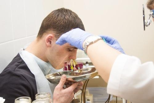 Лечение гайморита методом ЯМИК