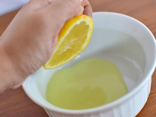 Лимонный сок для умывания