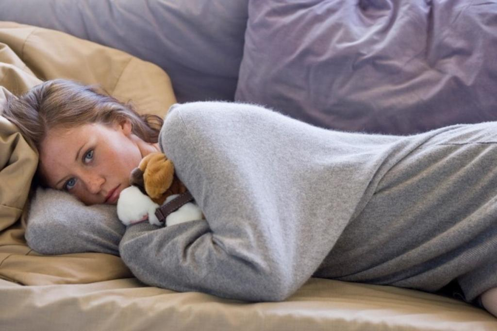 Что делать если болит живот при месячных