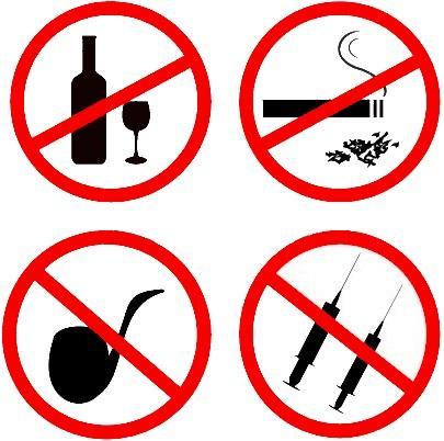 Нужео побороть вредные привычки