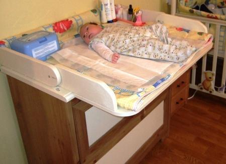 Правильное положение малыша перед процедурой