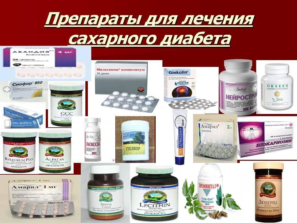 Препараты для лечения диабета