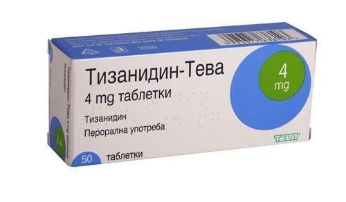 Препарат Тизанидин