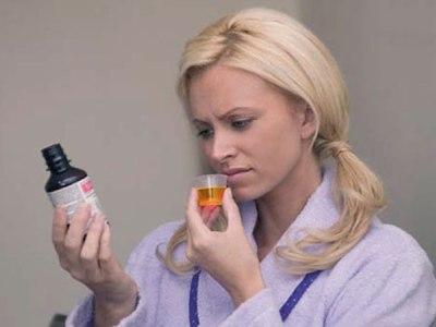 Прием лекарственных настоек
