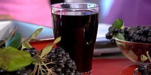Сок черноплодки