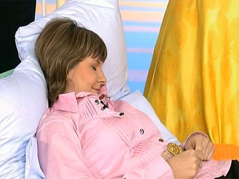 Спать рекомендуется полусидя