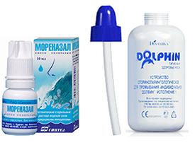 Средства для промывания носа