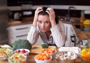 Стрессы и неправильное питание