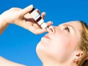 Продолжительное или бесконтрольное использование аэрозоля, спрея или капель для носа