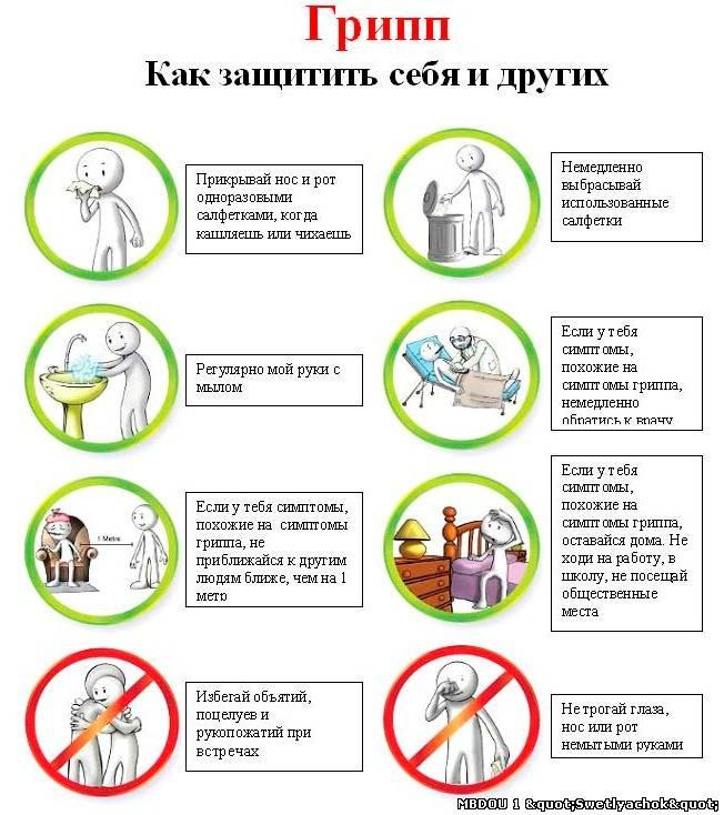 Как защитить детей от гриппа