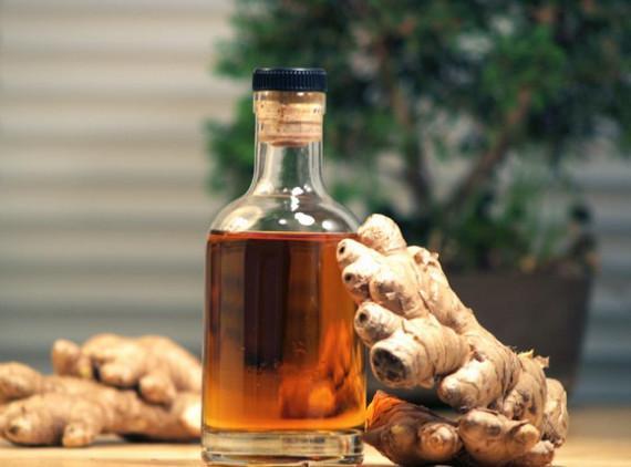 Алкоголь усиливает полезные свойства имбиря