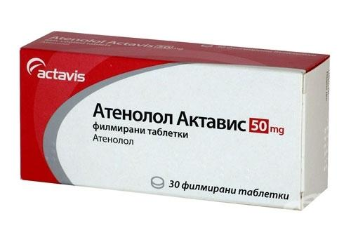 Атенолол Актавис способствует снижению высокого диастолического давления