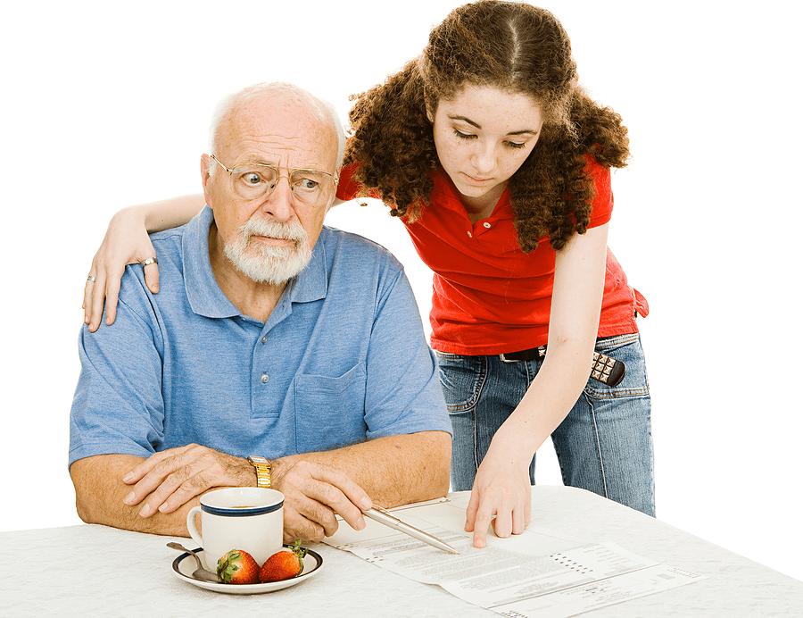 При деменции у человека нарушается концентрация внимания