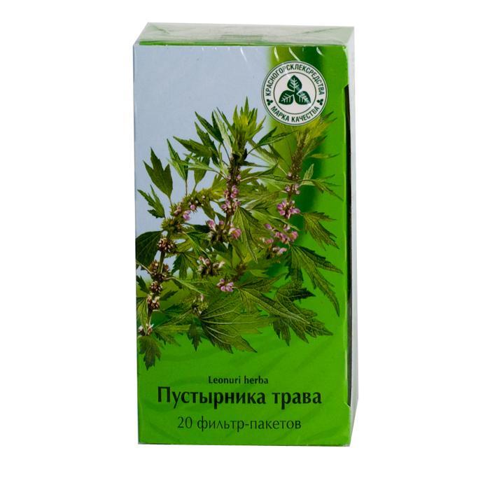Пустырника в фильтр-пакетиках для лечения вегето-сосудистой дистонии