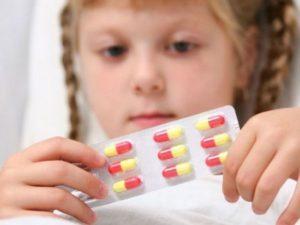 Антибиотики для детей при кашле и насморке