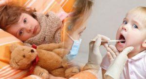 Болит горло у ребенка 3 года: лечение