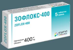 Зофлокс оказывает бактерицидное воздействие на грамотрицательные бактерии