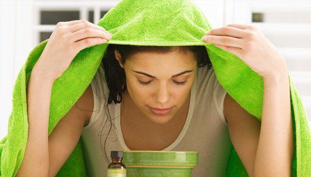 Ингаляция с чайным деревом смягчает и дезинфицирует ткани горла