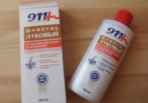 Луковый шампунь 911 устраняет потерю волос и улучшает внешний вид волос