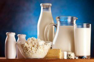 Молочные продукты не должны быть жирными в диете после инсульта