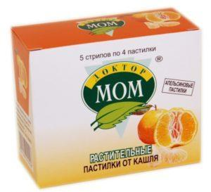 Пастилки с апельсином Доктором Мом